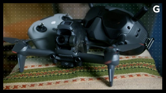 Flying DJI s First FPV Drone Is an Exhilarating but Imperfect Experience