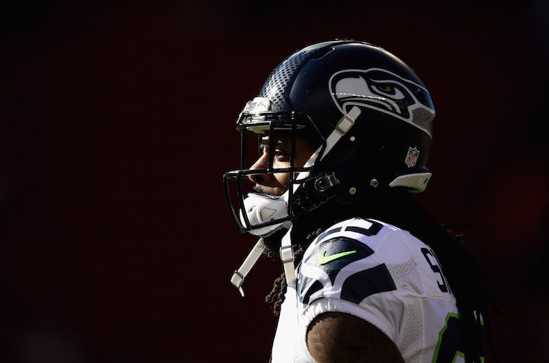 Seahawks' Michael Bennett rips ESPN's Richard Sherman story: 'Should be on TMZ'
