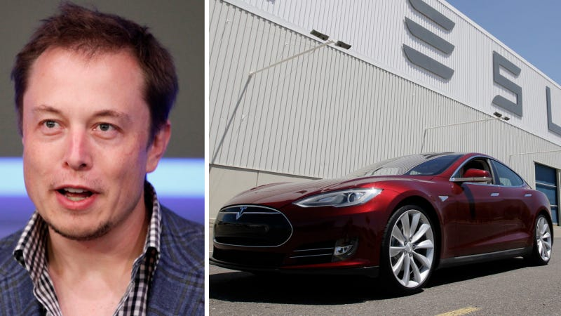 Illustration for article titled Tesla Claims Model S Driving Logs Show NYT Reporter Worked To Kill Its Battery