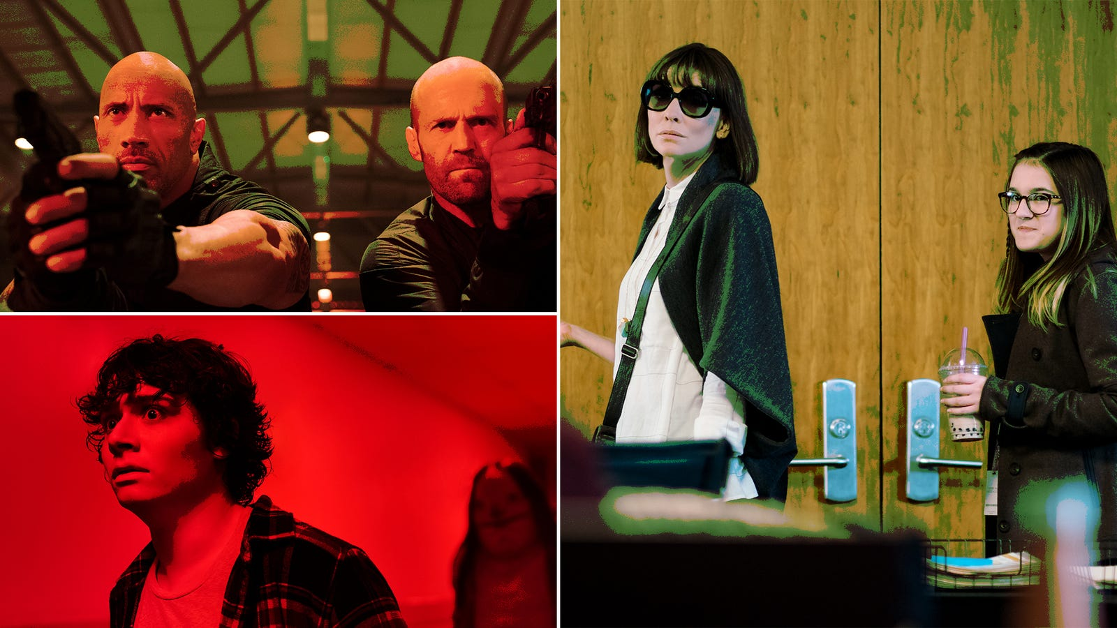 Hobbs, Shaw, and some festival favorites vie for your attention during the dog days of August