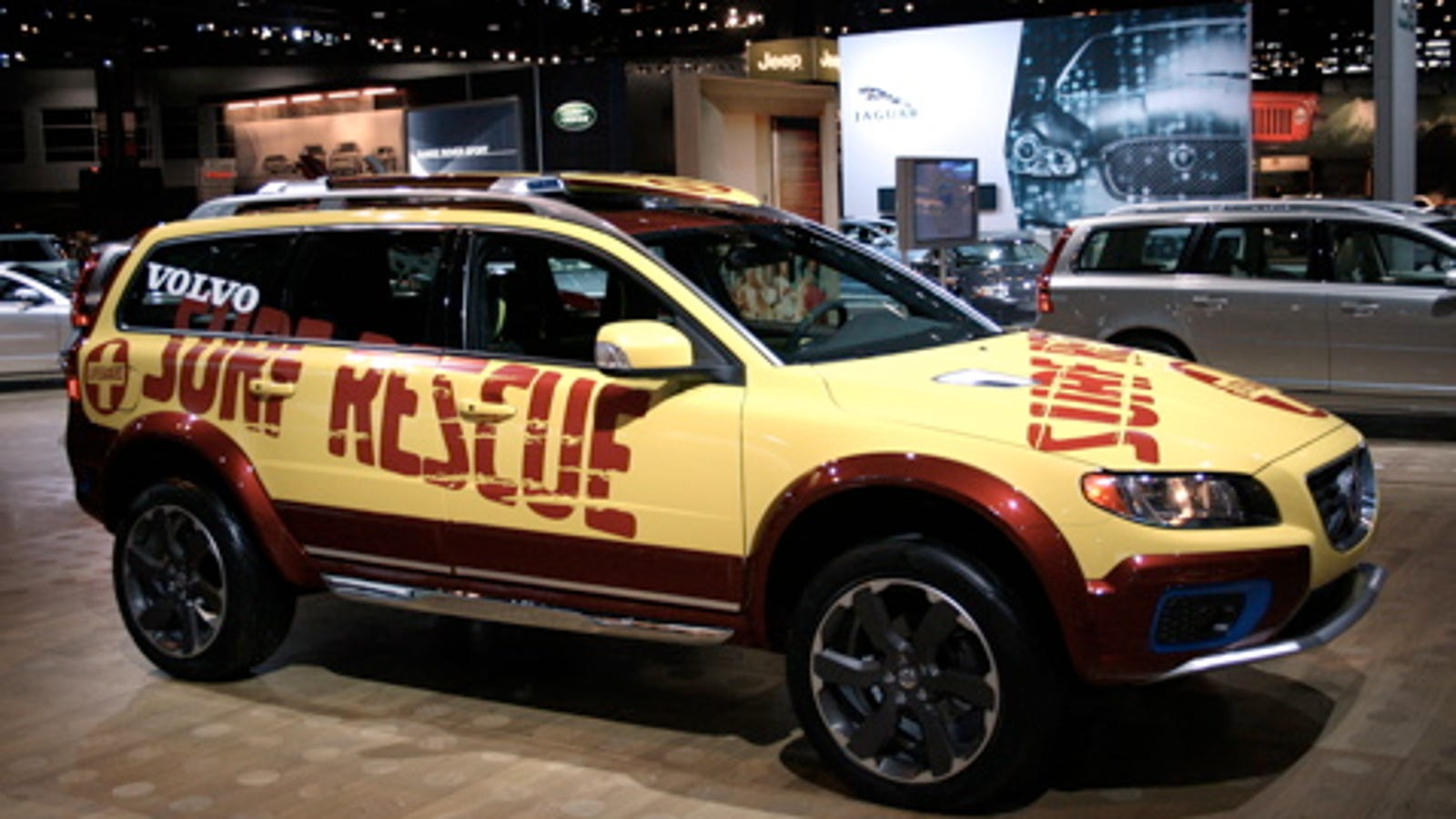 Chicago Auto Show The Volvo Xc70 Sr Surf Rescue Vehicle
