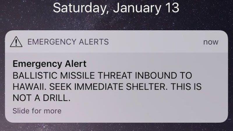 Illustration for article titled El funcionario que dio la falsa alarma de misil en Hawái no se equivocó de botón. Pensaba que el ataque era real [Actualizado]
