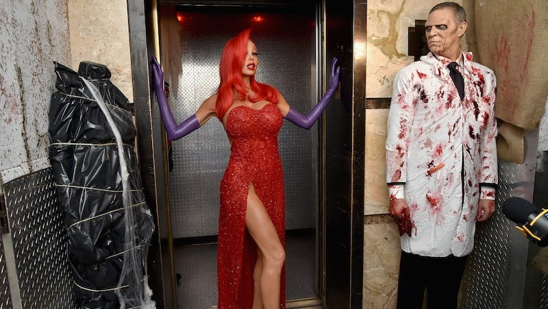 the coolest cutest and weirdest celebrity halloween costumes of 2015 - Semi Pro Halloween Costume