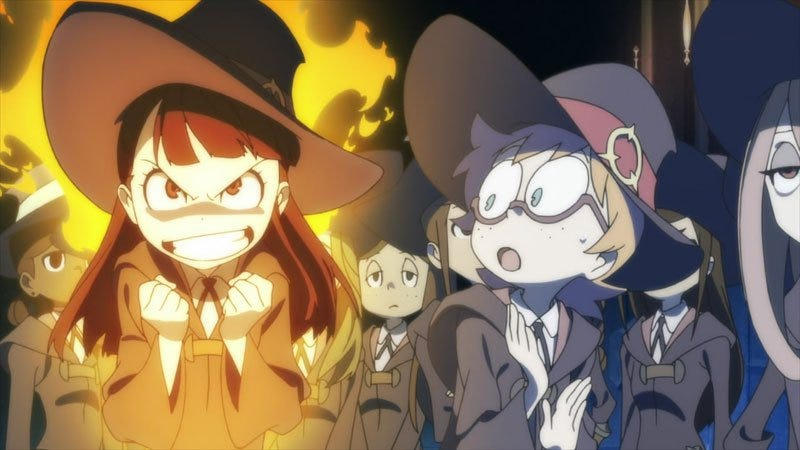 Illustration for article titled Little Witch Academia will get an Anime adaptation