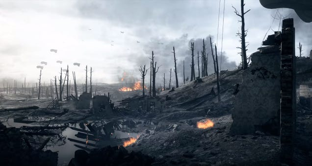 Beautiful Battlefield  Trailer  Was Shot Entirely Using Unsuspecting Real Players
