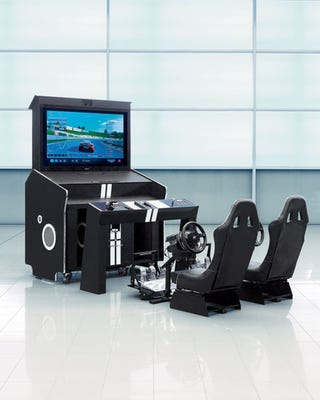 Illustration for article titled Neiman Marcus Will Sell You A Racing Simulator For A Totally Reasonable $90,000
