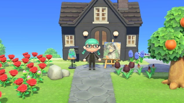 How to Get Famous Art in Animal Crossing Using the Getty Museum s Archive