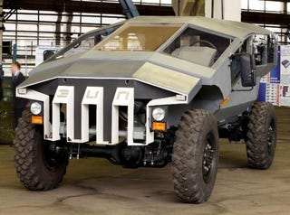 Illustration for article titled This Futuristic Armored Assault WagonIs Russia'sAnswer To The Humvee