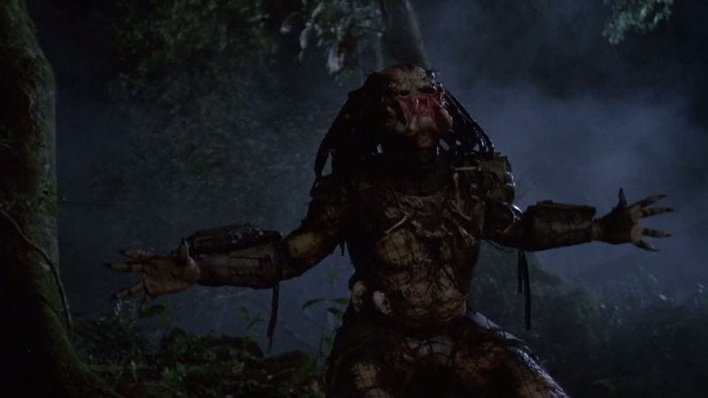 Illustration for article titled That Predator reboot is really more of a sequel