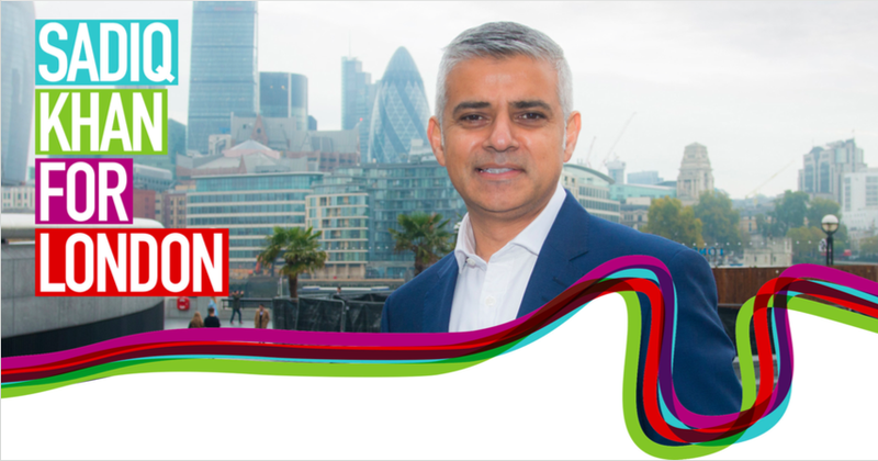 Illustration for article titled London elects Sadiq Khan as Mayor