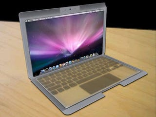 Illustration for article titled MacBook Touch Concept Based on Apple's Latest Transparent Displays Patent