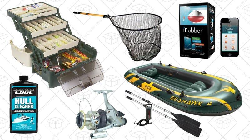 Boating and Fishing Gold Box   Amazon
