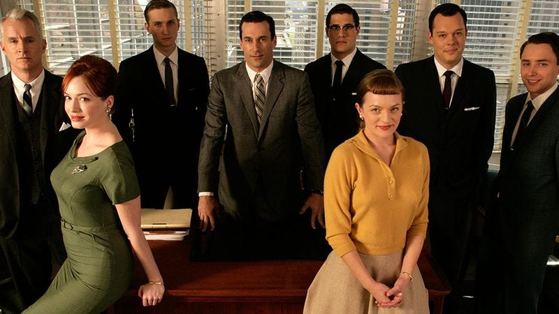 Illustration for article titled 'Mad Men' Premiere Features Group Of Actors Who Are Scared To Death Of Never Making Transition To Film