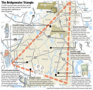 Illustration for article titled The Bridgewater Triangle, Massachusetts' epicenter of weirdness