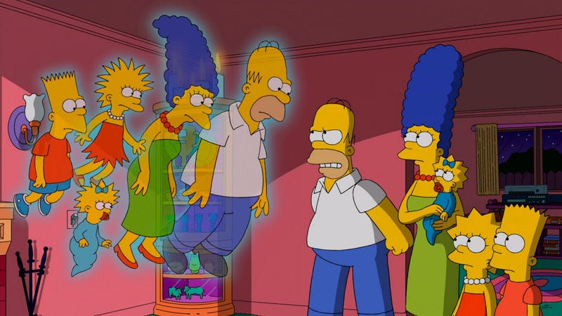 Illustration for article titled The Way They Was: Six Totally Different Shows The Simpsons Has Been