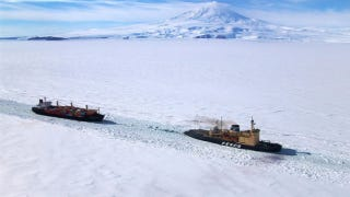 Illustration for article titled Shortage of icebreaker ships could lose us the race to explore the Antarctic