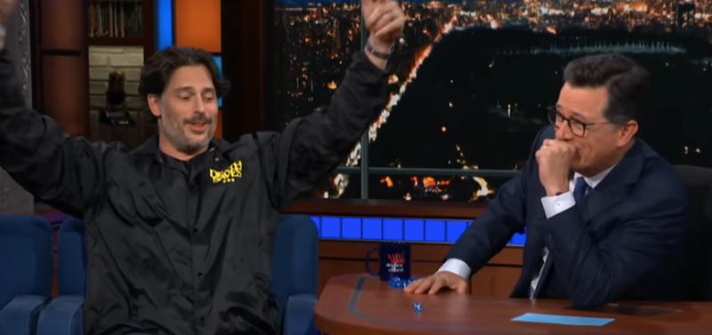 Joe Manganiello, Stephen Colbert