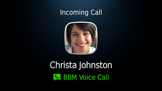 Illustration for article titled The New BBM Lets You Make Free Voice Calls Over Wi-Fi