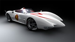 Illustration for article titled Speed Racer Car Sighted - It's Real, We Want