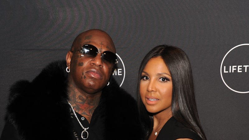Birdman and Toni Braxton attend Lifetime's Film,'Faith Under Fire: The Antoinette Tuff Story' red carpet screening and premiere event on January 23, 2018.