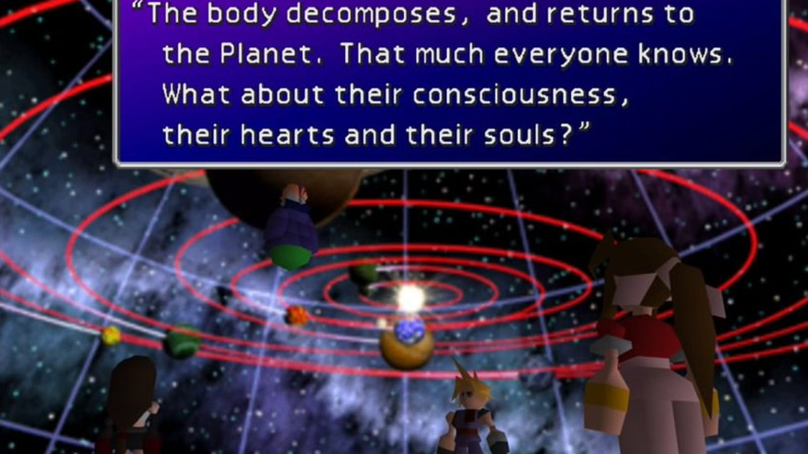 Final Fantasy Vii S Cosmo Canyon Sequence Is A Meditation On Family