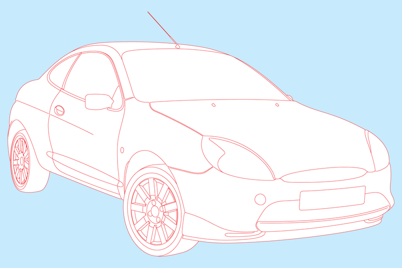 Illustration for article titled Ford Puma: Illustrated