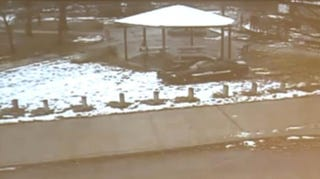 The Cleveland playground where police fatally shot 12-year-old Tamir Rice as he played with a toy gun.YouTube screenshot