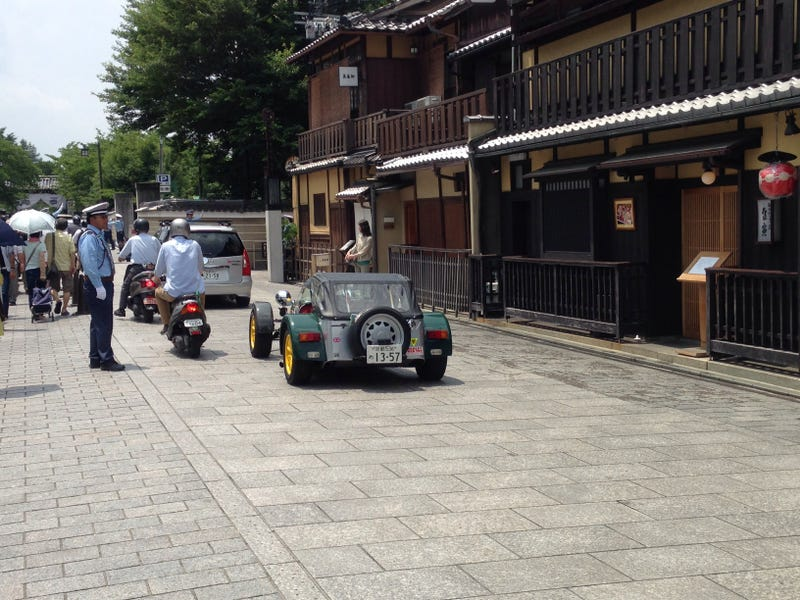 Illustration for article titled Another Caterham In Kyoto!