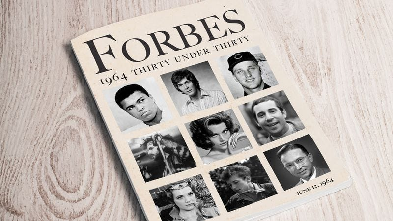 Illustration for article titled Rectifying Past Mistakes: 'Forbes' Is Retroactively Adding Frank Langella To The 1964 30 Under 30