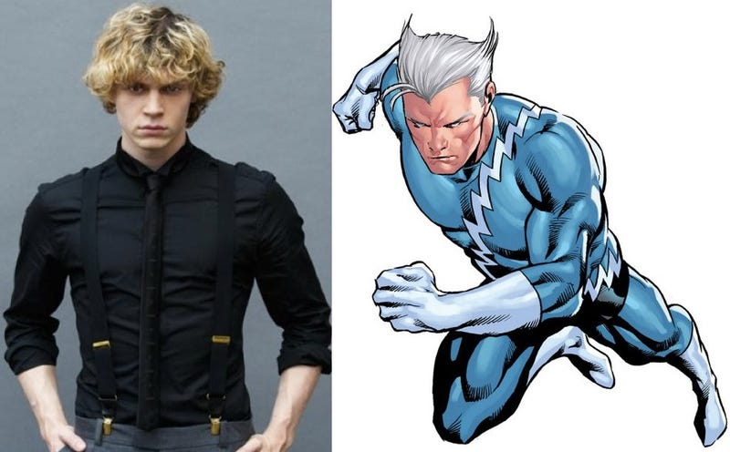 Illustration for article titled X-Men: Days of Future Past's Quicksilver WILL have silver hair