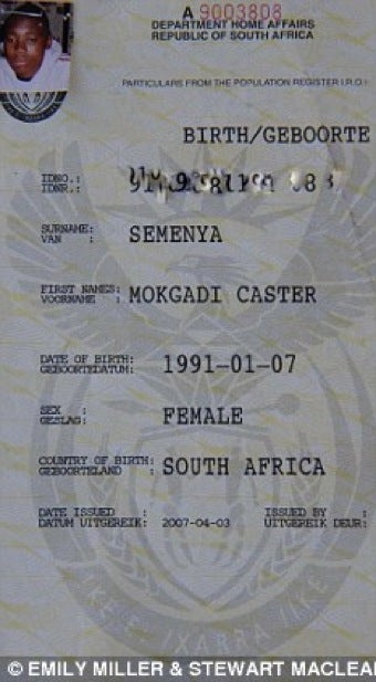 Illustration for article titled Caster Semenya's Father Weighs In On Gender Controversy