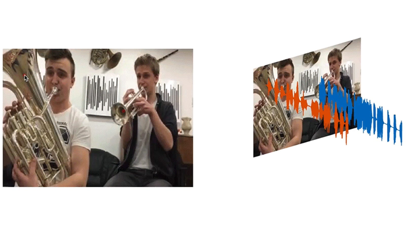 MIT's New AI-Powered Software Can Extract Individual Instruments From Videos With a Single Click