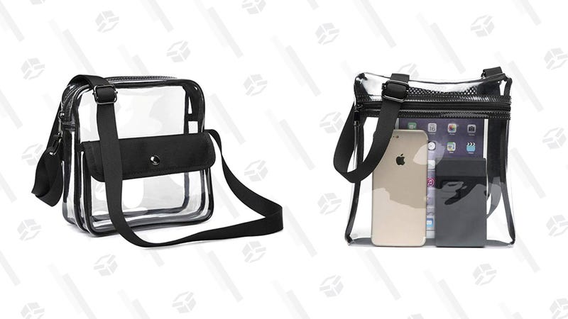 F-Color Concert Stadium Approved Clear Bag   $7   Amazon   Clip 5% off coupon and use promo code 3L3XS64NF-Color Clear Stadium Bag NFL   $7   Amazon   Clip 5% off coupon and use promo code 3F3FP9A3