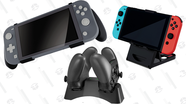 Spoil Your Nintendo Switch With 50% off Accessories at Best Buy