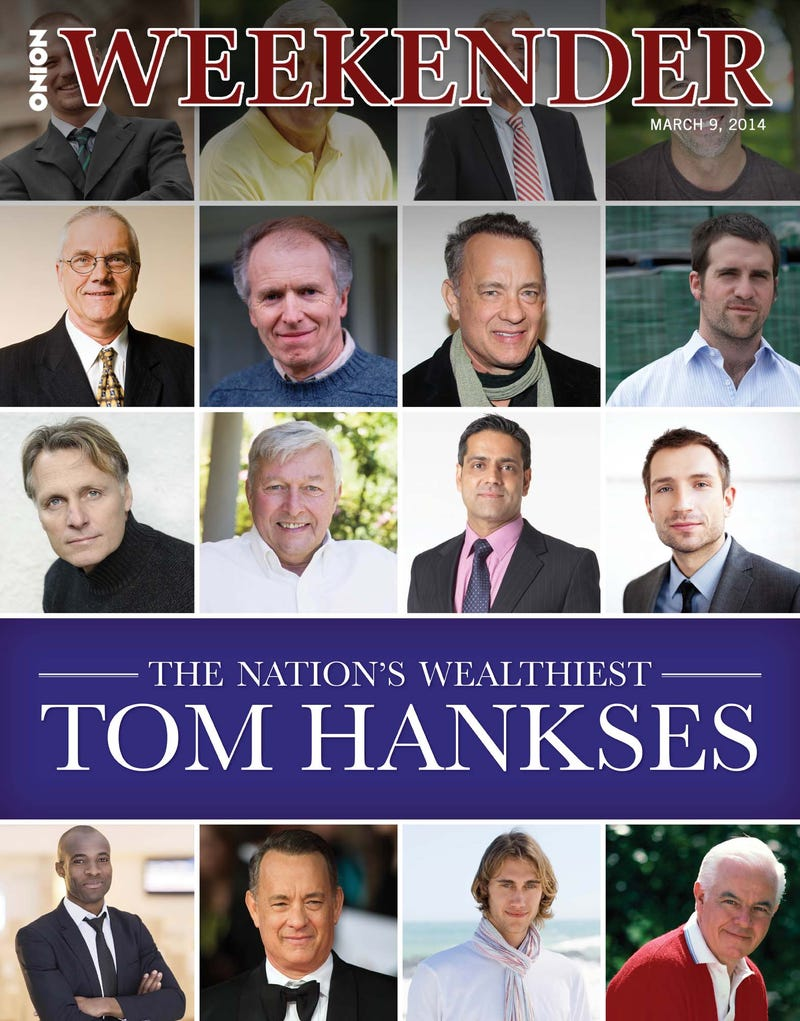 Illustration for article titled The Nation's Wealthiest Tom Hankses