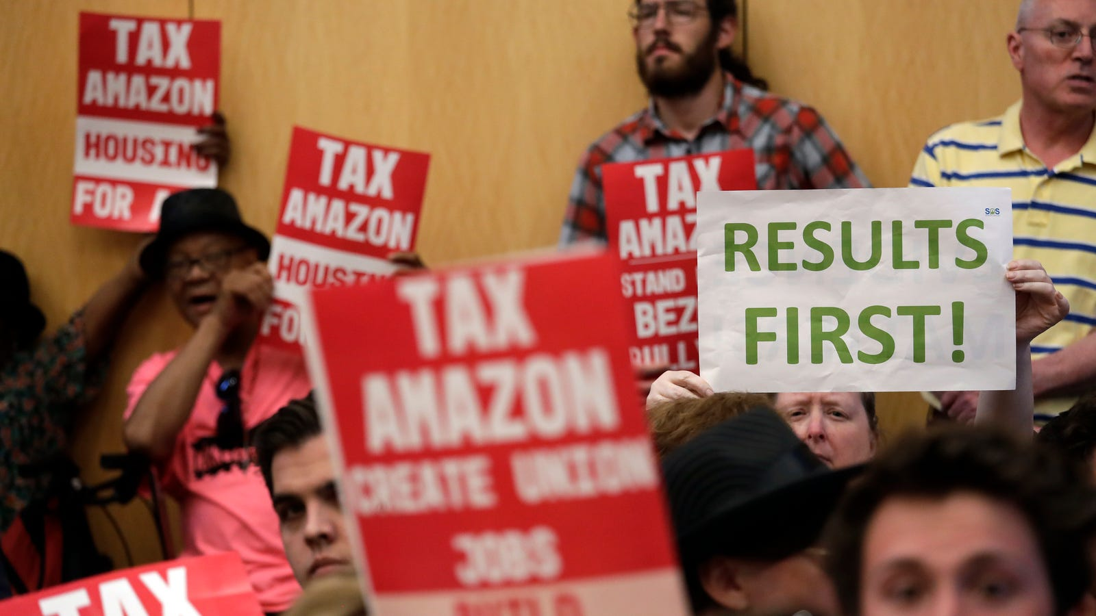 Against Amazon's Wishes, Seattle Passes 'Head Tax' on Big Businesses