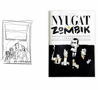 Illustration for article titled Barátnője névnapjára töltötte fel a nyugatos zombis  képeket az alkotó