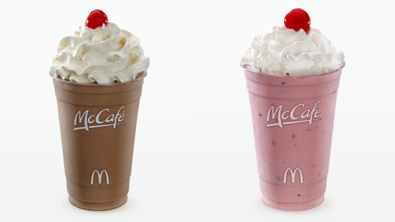 Illustration for article titled Drinking a McDonald's Japan Milkshake Is Just Like Sucking on a Boob