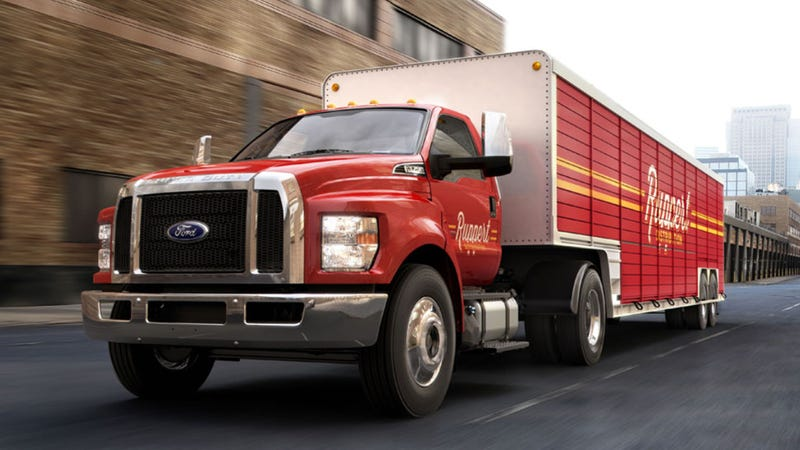 Illustration for article titled America, Meet Your New Beer Trucks: All New Ford F-650 And F-750