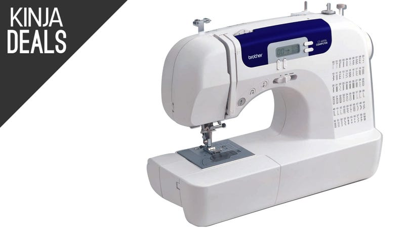 Illustration for article titled Amazon's Best-Selling Sewing Machine Has Never Been Cheaper