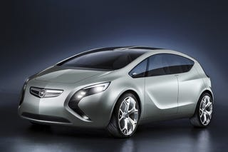 Illustration for article titled LEAKED, Electric Meets Diesel in Opel E-Flex