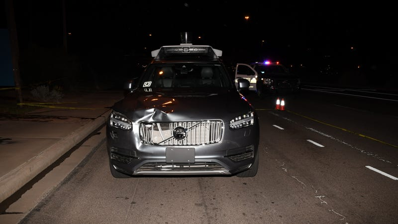Illustration for article titled Uber Driver in Fatal Tempe Crash May Have Been Watching The Voice Behind the Wheel