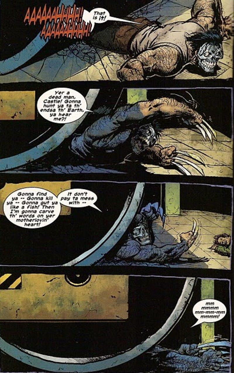 Resultado de imagem para Punisher wolverine balls