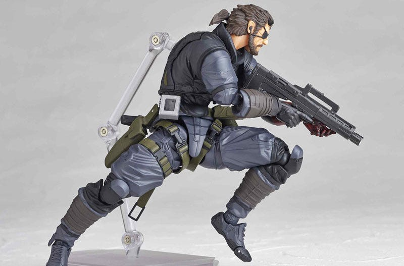 Illustration for article titled Look At This Metal Gear Solid V Action Figure