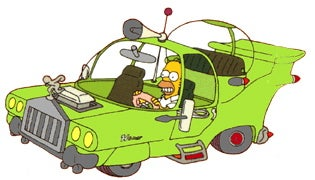 Illustration for article titled Ford Execs Compare Current Taurus To...Homer Simpson?!
