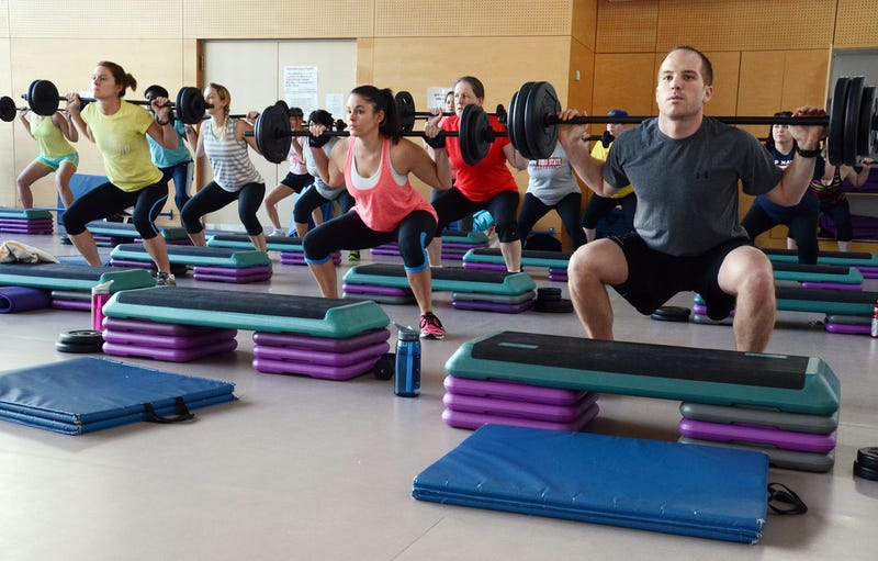 working out in a group is better for your mental wellbeing than