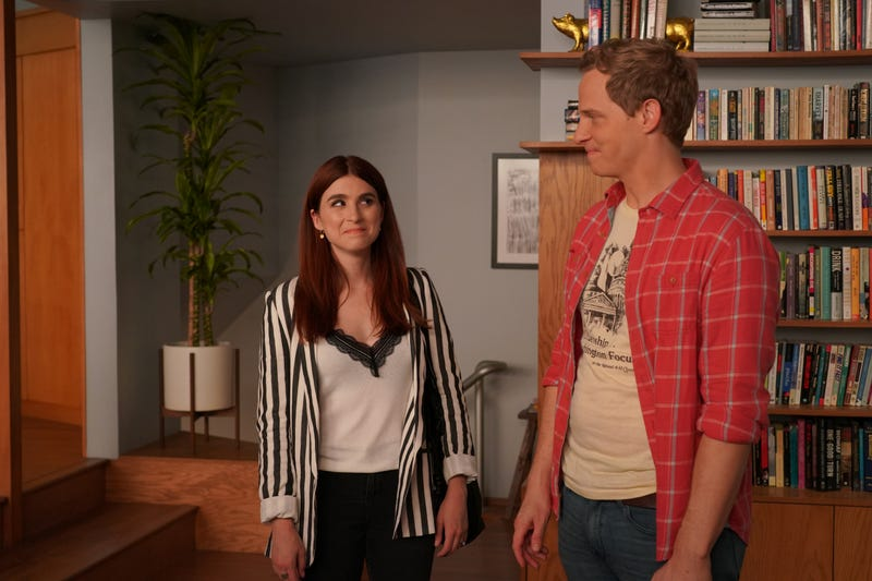 Aya Cash & Chris Geere as Gretchen and Jimmy
