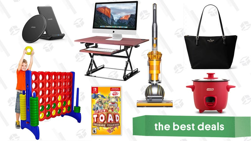 Illustratie voor artikel getiteld Wednesday's Best Deals: Dyson Ball Vacuum, Giant Outdoor Games, Anker Charging Gear en meer