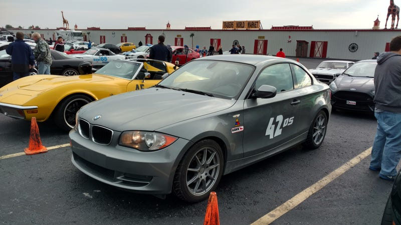Illustration for article titled Did the last autocross of the year today