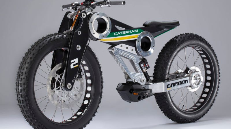 Illustration for article titled Caterham Group Launches Motorcycle Division